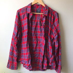 NWT Women's size XL Red Flannel
